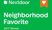 Perk-N-Pooch voted NextDoor Neighbor Favorites 2017