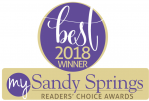 Perk-N-Pooch voted 2018 Sandy Springs Best Choice Reader Award
